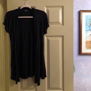 Forever 21 Long T-shirt Duster Vest